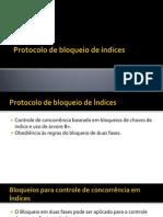 Protocolo de Bloqueio de Índices