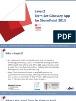 How to Use SharePoint Term Set Glossary App