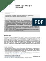 Oropharyngeal Dysphagia (1)