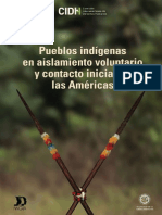 Informe sobre Pueblos Indígenas en Aislamiento Voluntario y Contacto Inicial en Las Américas