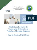 Medicion en Urugual Cost Transaccion