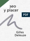 Deleuze, Gilles - Deseo y Placer