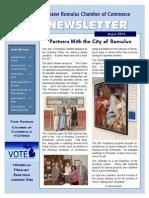 August 2014 Romulus Chamber Newsletter