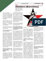 Entrevista a la Sección Sindical de CGT en Serra Soldadura, S.A.U