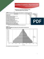 Datos Estaditicos Oruro