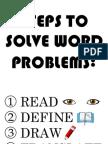 Solve Word Prob