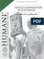 Quince Años de Evangelium Vitae
