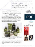 Preview _Origins Mega-Mushroom Skin Relief Review and Ingredients Analysis - Of Faces and Fingers