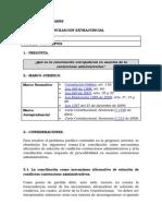 Conciliacion Extrajudicial en Lo Contencioso Administrativo