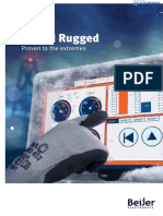 Beijer Electronics IX T15BR Rugged Series Brochure