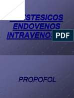 ANESTESICOS ENDOVENOSOS UPEA