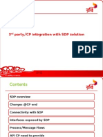 CP IntegrCP integration with SDP.PDFation With SDP