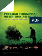 Buku Pedoman Penggunaan Insektisida