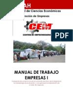 Manual de Trabajo Empresas I