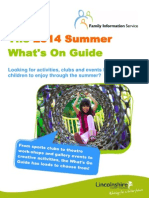 Summer 2014 Whats on Guide