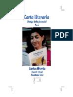 Carta Literaria No. 2