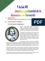 Pl. Nº 3 Torricelli