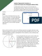 The Forgotten Trigonometric Functions