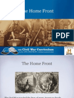 the home front ppt  lesson 2