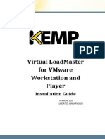 Installation Guide VMWare Workstation and Player v.1.10