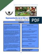 Boletin FAO Venezuela Sept Oct