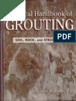 Handbook Grouting