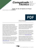 Selecao e Recomendacao de Uso de Especies de Fungos Micorrizicos Arbusculares