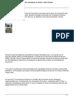 07 07 14 Diarioax Reconoce Salud Federal Combate a Paludismo en Oaxaca
