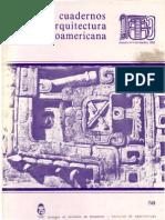 Cuaderno de arquitectura mesoamericana