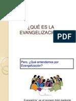1.1 Qué es la Evangelización