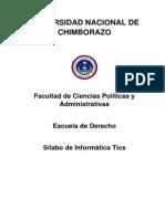 Silabo Informática Tics