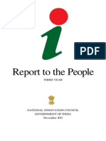 Report to the People 2013 - National Innovation Council
