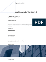Cmmi‐Dev v1.3 Spanish