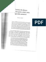 História Da Dança, Considerações Sobre Uma Questão Sensível - Beatriz Cerbino
