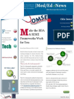 UA OMSE Med/Ed eNews v3 No. 01 (AUG 2014)