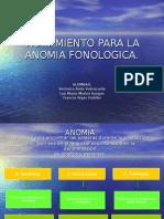 disertacion anomia fonologica