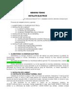 IE_Memoriu Tehnic Instalatii Electrice222