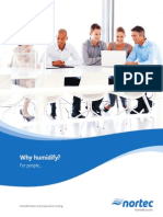 Why Humidify for People Brochure