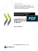 2013 - Legal Reform, Contract Enforcement, And Firm Size in Mexico
