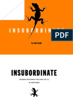 The Insubordinate e Book