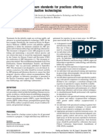 ASRM - Revised Minimum Standards for Practices Offering ART - 2008