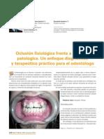 Oclusion Fisiologica vs Patologica