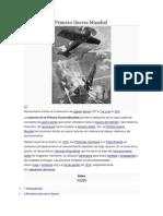 Aviación en la Primera Guerra Mundial