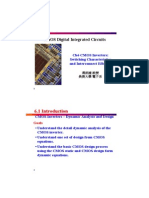 Ch6 I MOS Inverters Switching Characteristics I 2 13