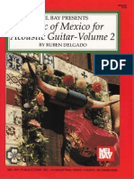 Music of Mexico for Acoustic Guitar - Vol.2