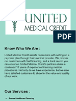 Get Medical Financing by United Medical Credit