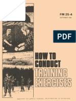 2514021 Army Fm25 4 How to Conduct Training Exercises