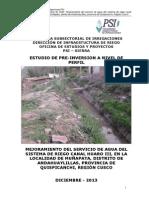 Perfil PIP Menor - Canal Huaro