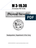 2471201 Army Fm3 19x30 Physical Security