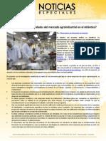 ¿Cuáles son las necesidades del mercado agroindustrial en el Atlántico?